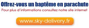 Offrez-vous un baptême en parachute. Pour plus d'informations consultez notre site internet