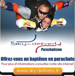 Offrez-vous un baptême en parachute avec Sky-Delivery